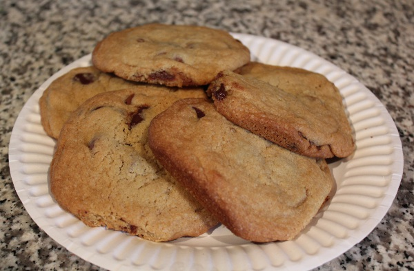Kara's famous chocolate chip cookies