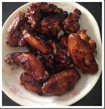 Mum's BBQ chicken