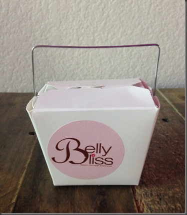 Belly Bliss Chinese takeaway box